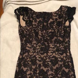 ABS black lace XS dress